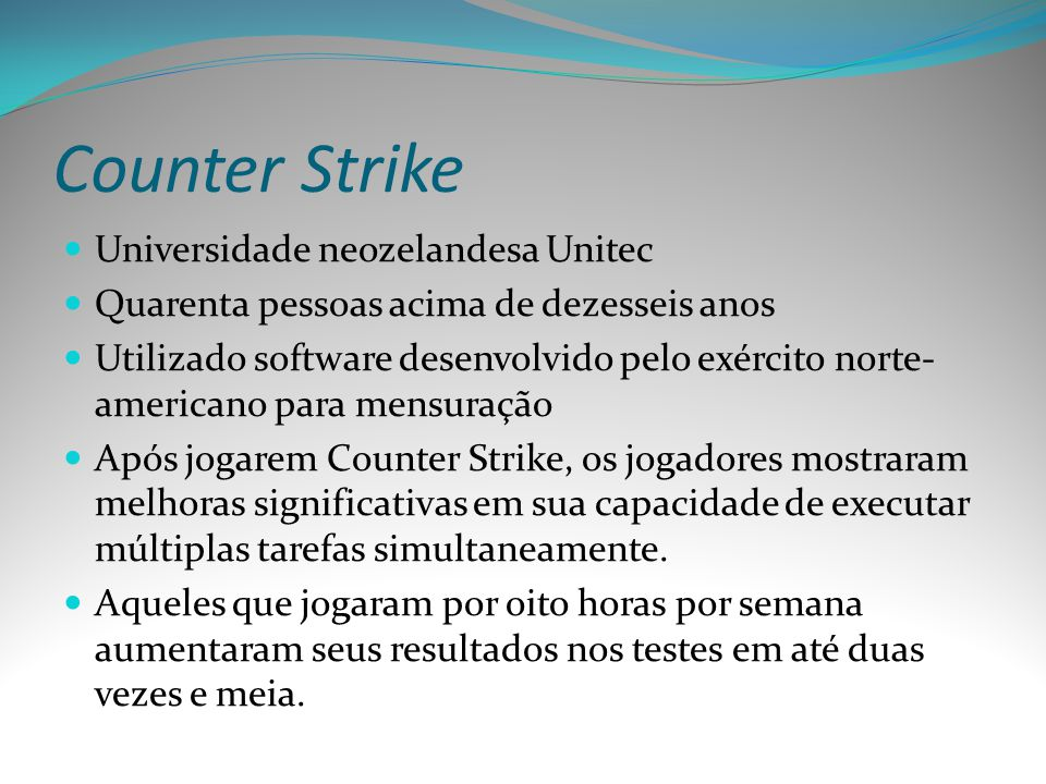 Counter Strike Universidade neozelandesa Unitec