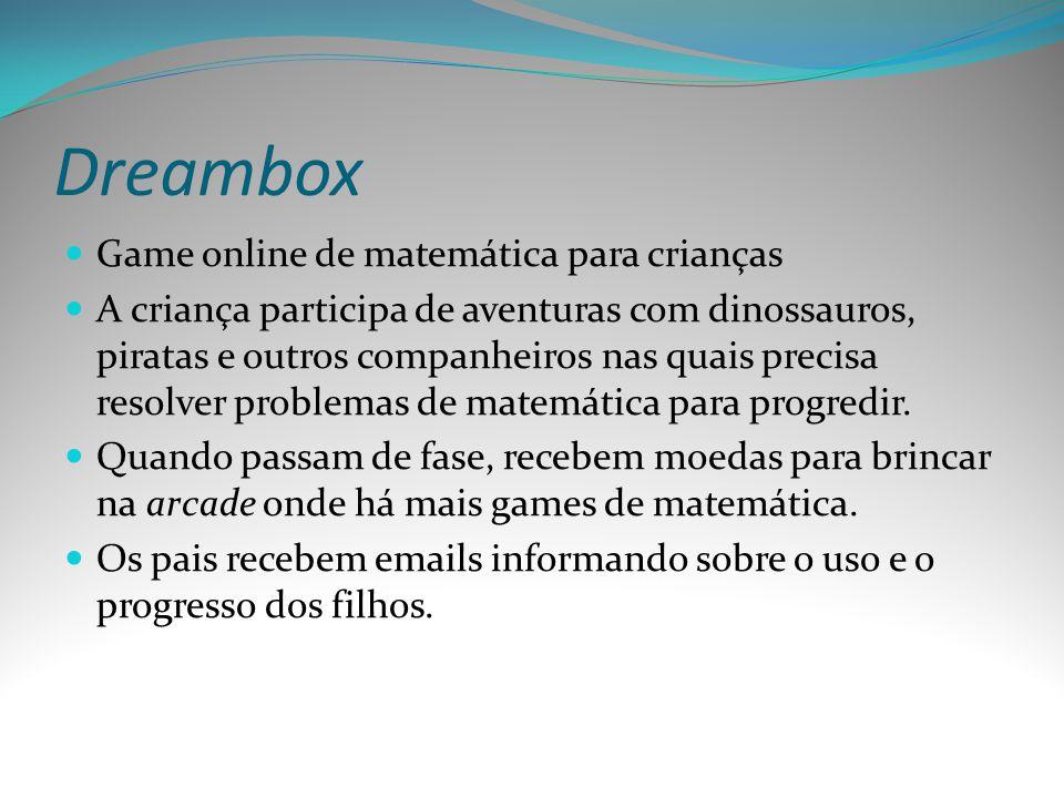 Dreambox Game online de matemática para crianças
