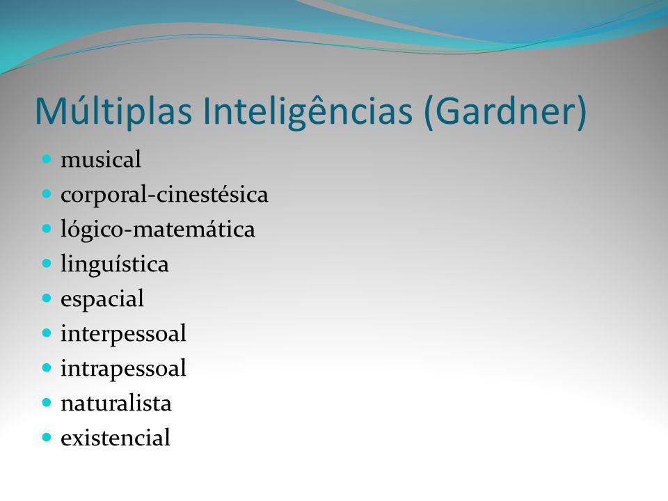 Múltiplas Inteligências (Gardner)