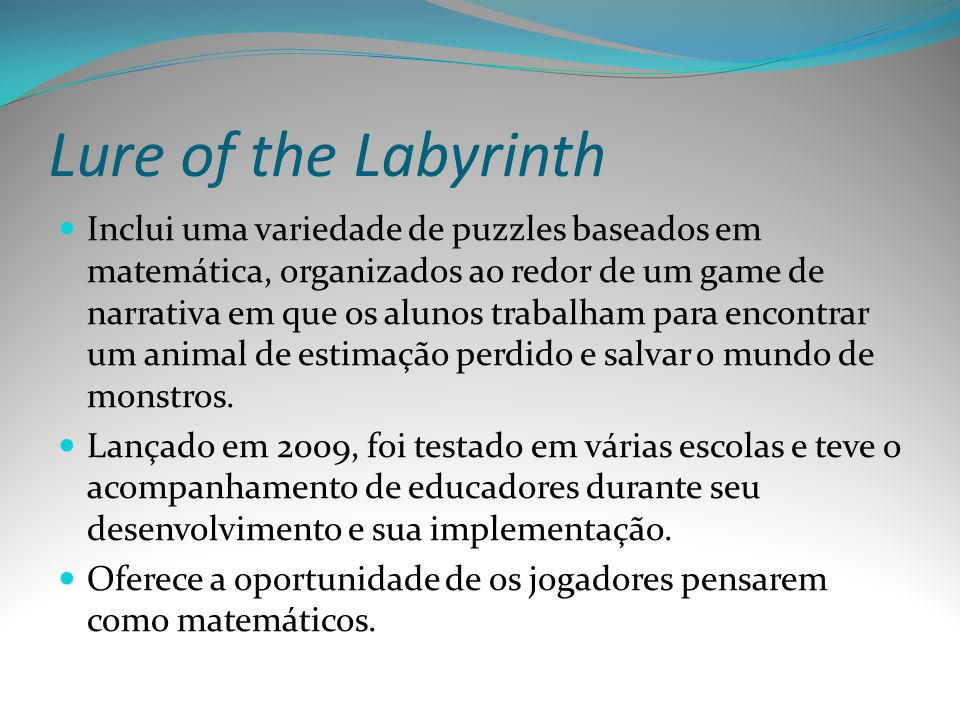 Lure of the Labyrinth