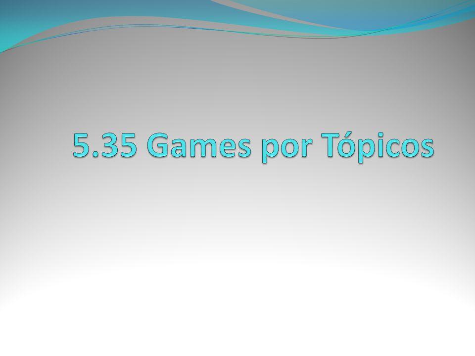 5.35 Games por Tópicos