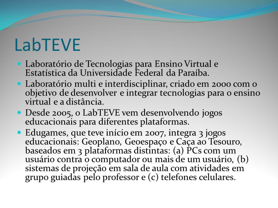 LabTEVE Laboratório de Tecnologias para Ensino Virtual e Estatística da Universidade Federal da Paraíba.