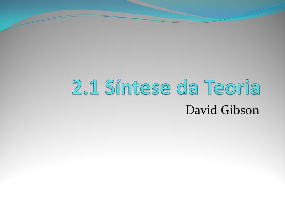 2.1 Síntese da Teoria David Gibson