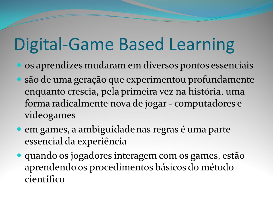 Digital-Game Based Learning