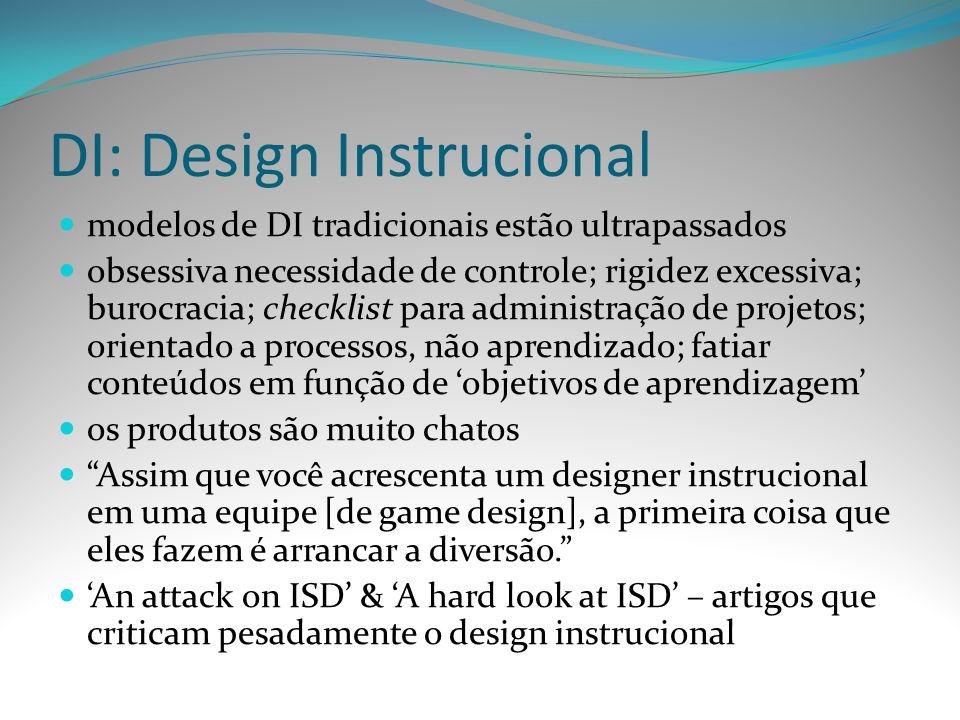 DI: Design Instrucional