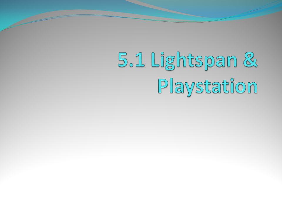 5.1 Lightspan & Playstation