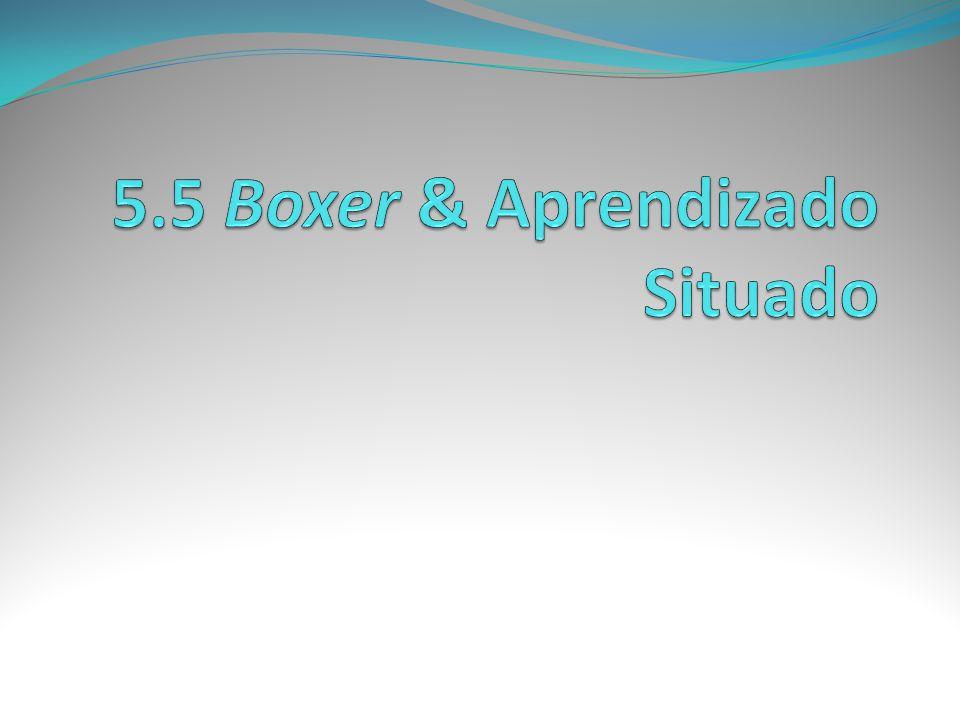 5.5 Boxer & Aprendizado Situado