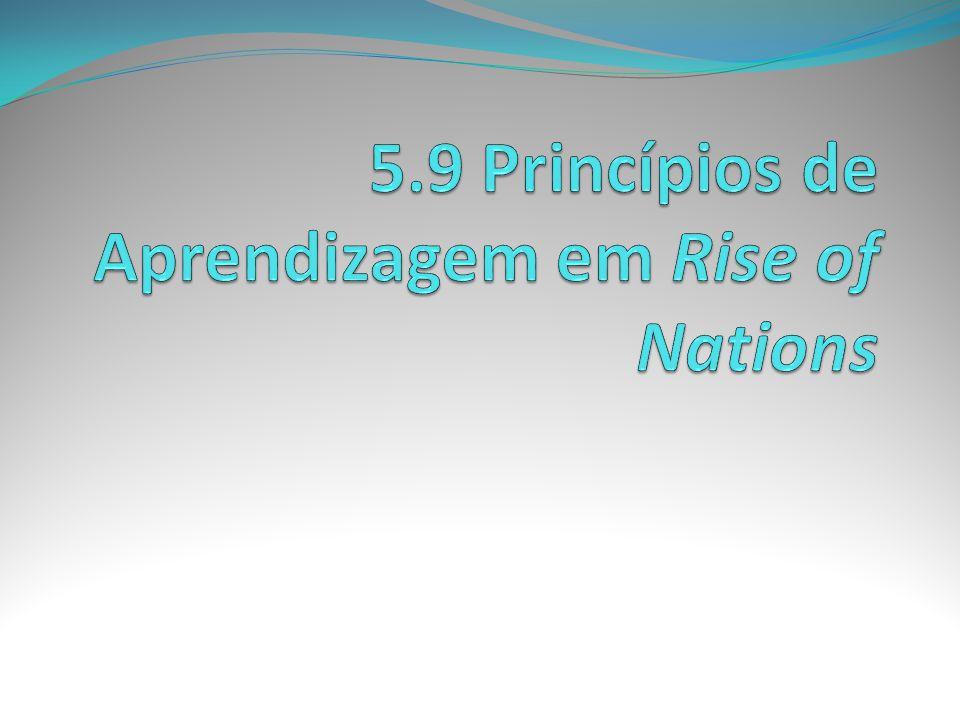 5.9 Princípios de Aprendizagem em Rise of Nations