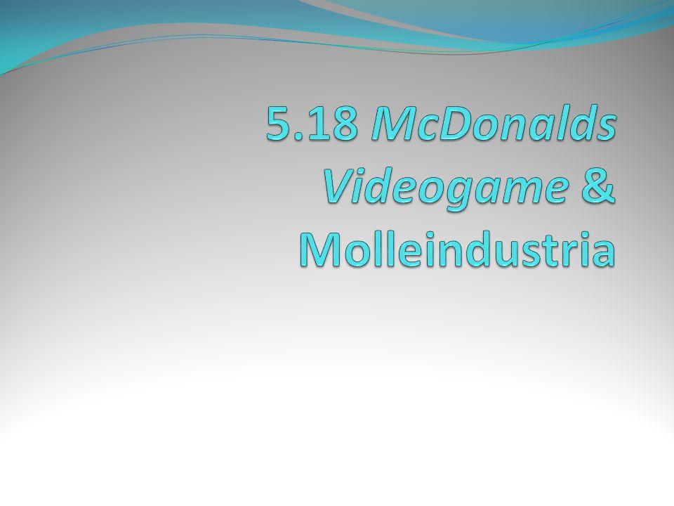 5.18 McDonalds Videogame & Molleindustria