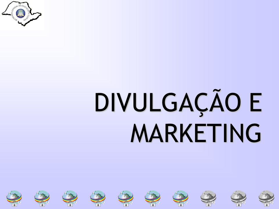DIVULGAÇÃO E MARKETING