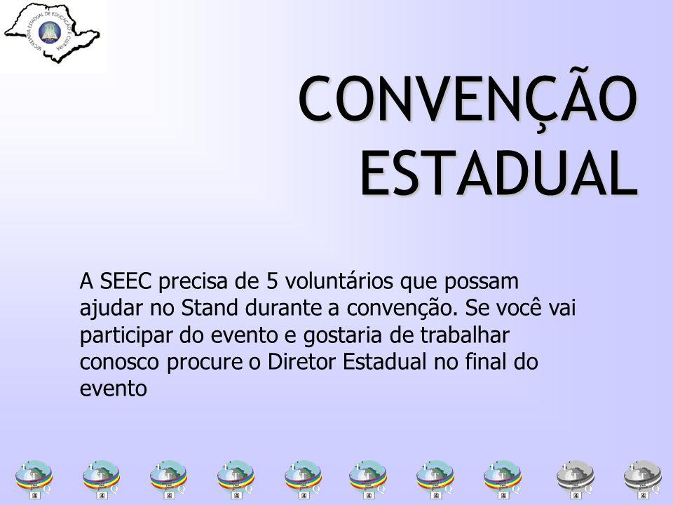 CONVENÇÃO ESTADUAL