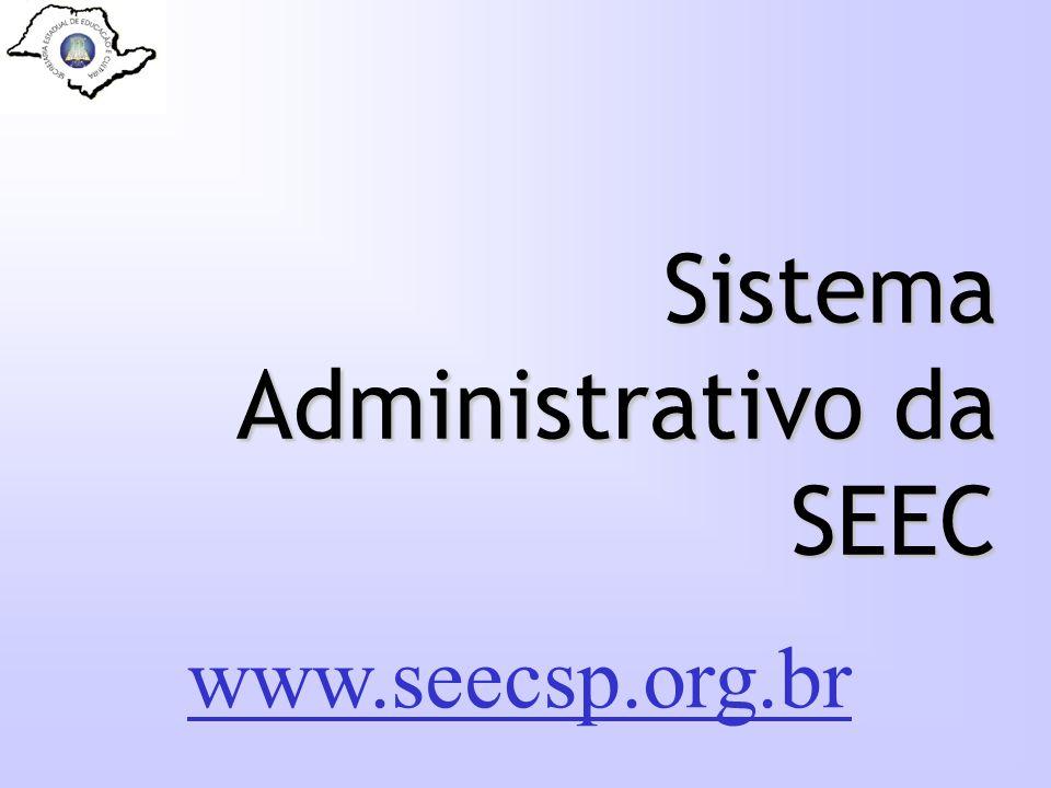 Sistema Administrativo da SEEC