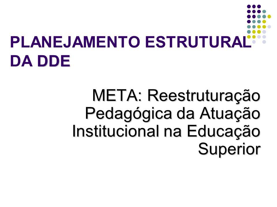 PLANEJAMENTO ESTRUTURAL DA DDE
