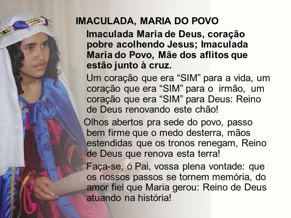 IMACULADA, MARIA DO POVO