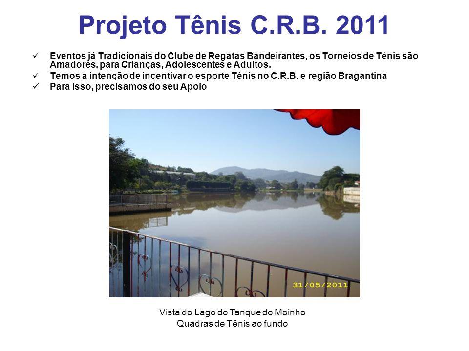 Projeto Tênis C.R.B. 2011
