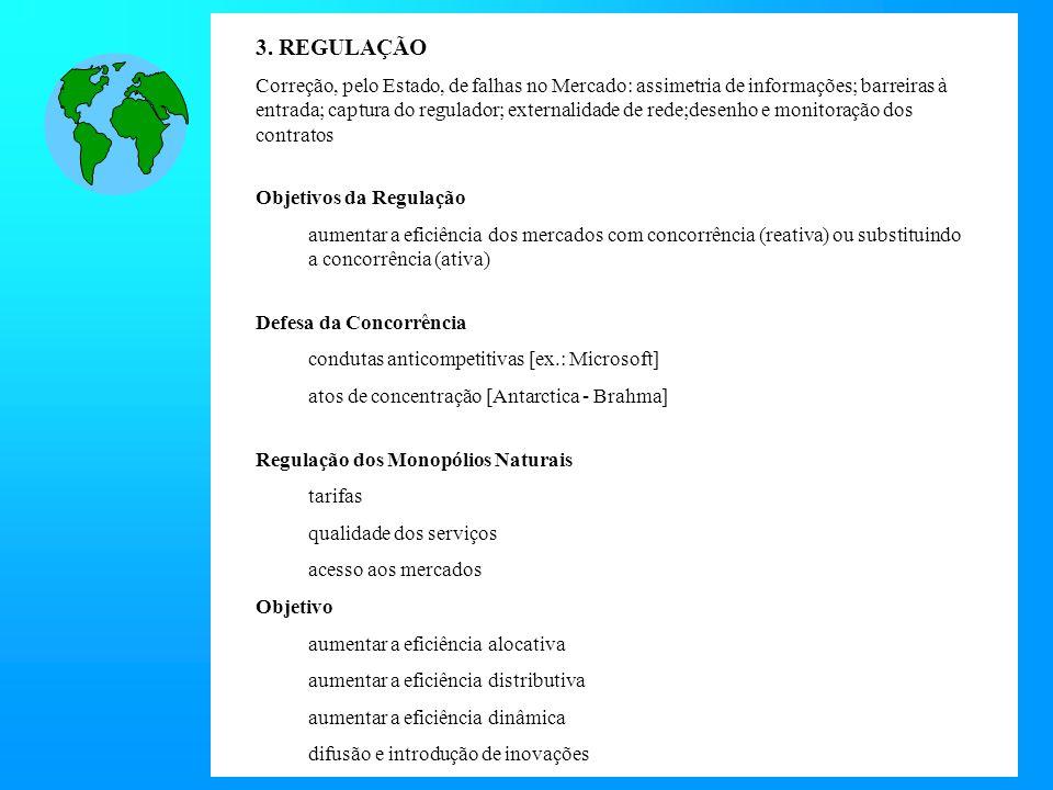 3. REGULAÇÃO