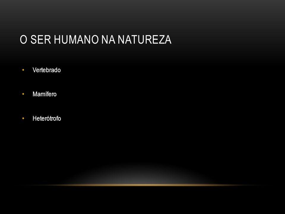 O ser humano na natureza