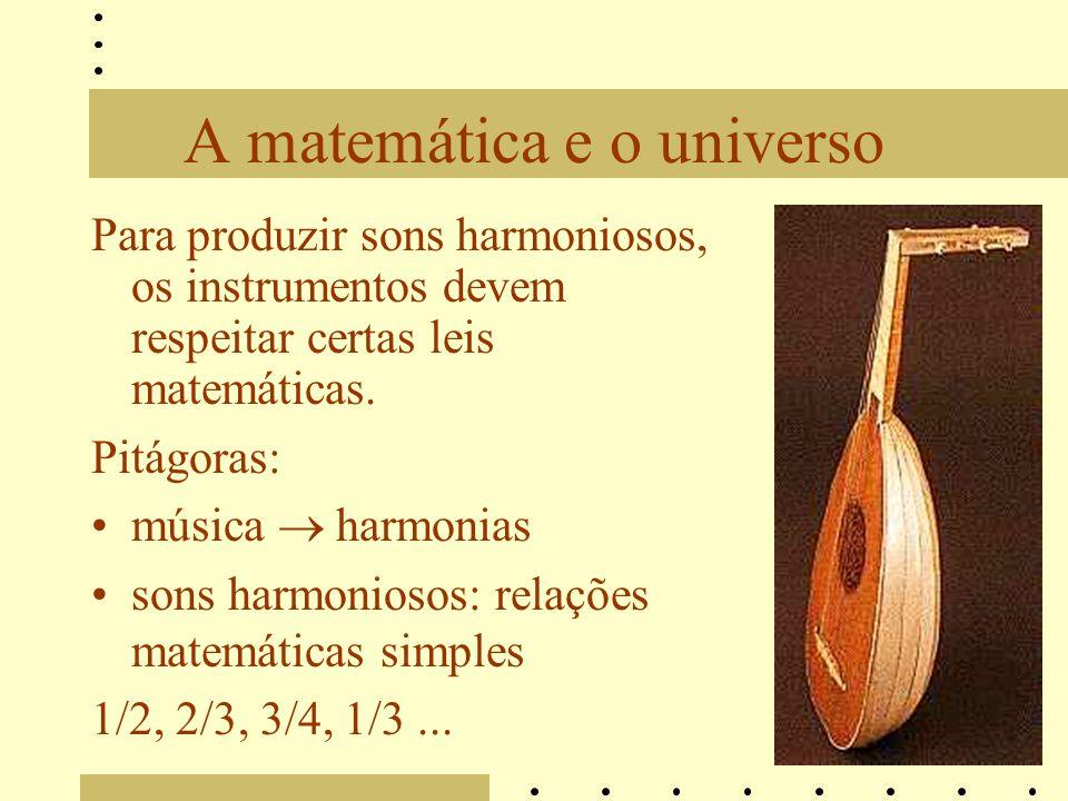 A matemática e o universo