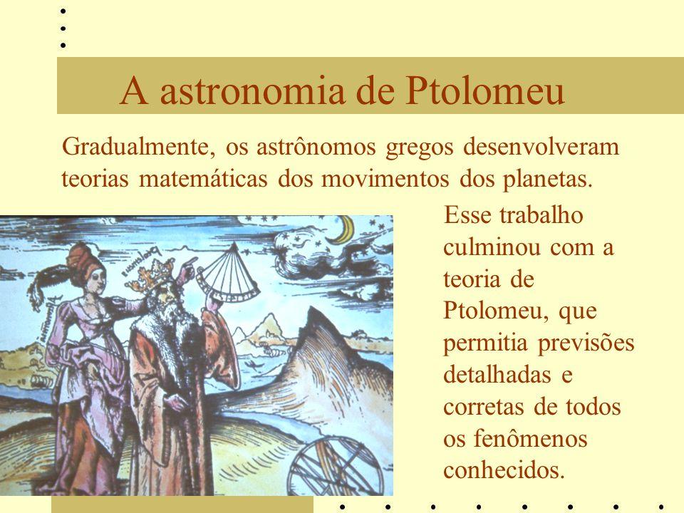 A astronomia de Ptolomeu