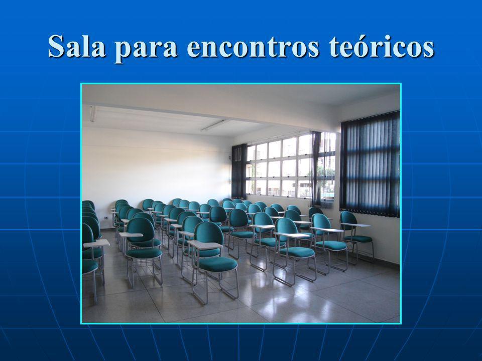 Sala para encontros teóricos