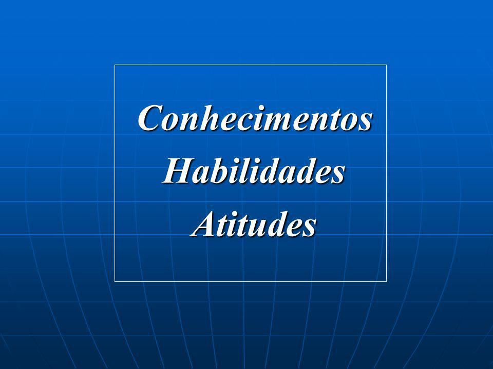 Conhecimentos Habilidades Atitudes