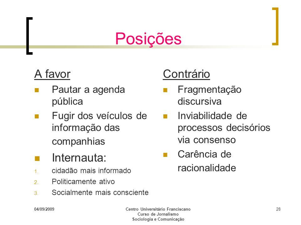 Centro Universitário Franciscano Sociologia e Comunicação