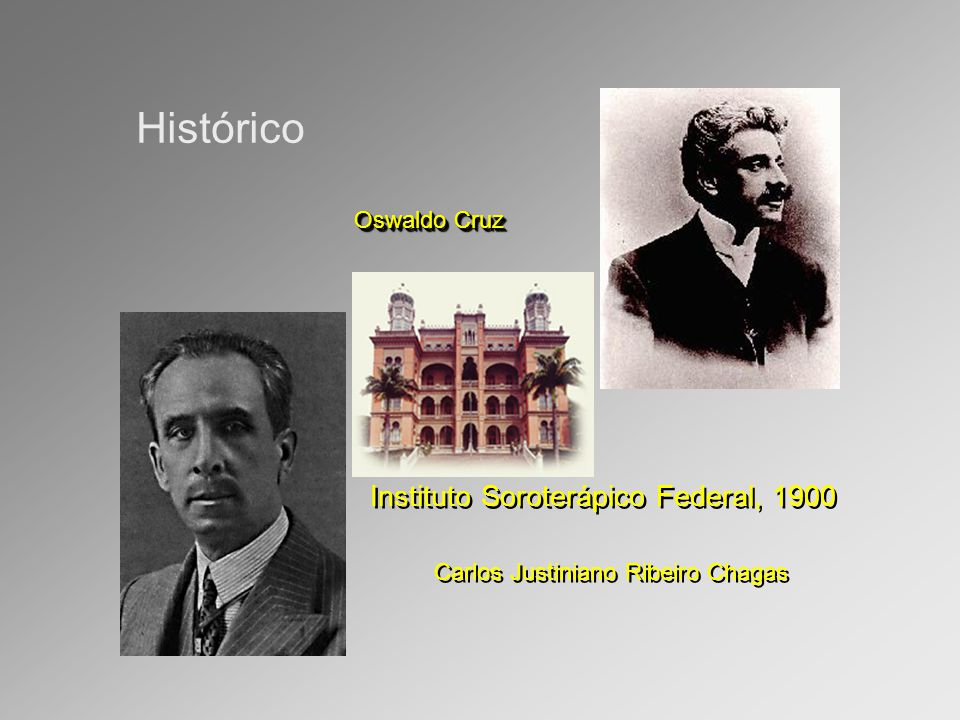 Histórico Instituto Soroterápico Federal, 1900 Oswaldo Cruz