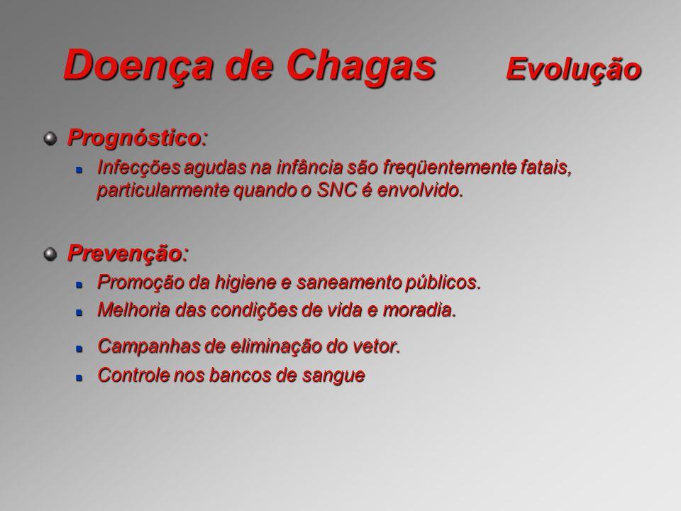 Doença de Chagas Evolução