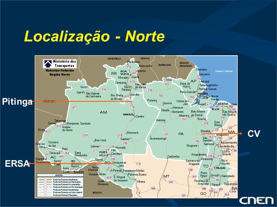 Localização - Norte Pitinga CV ERSA
