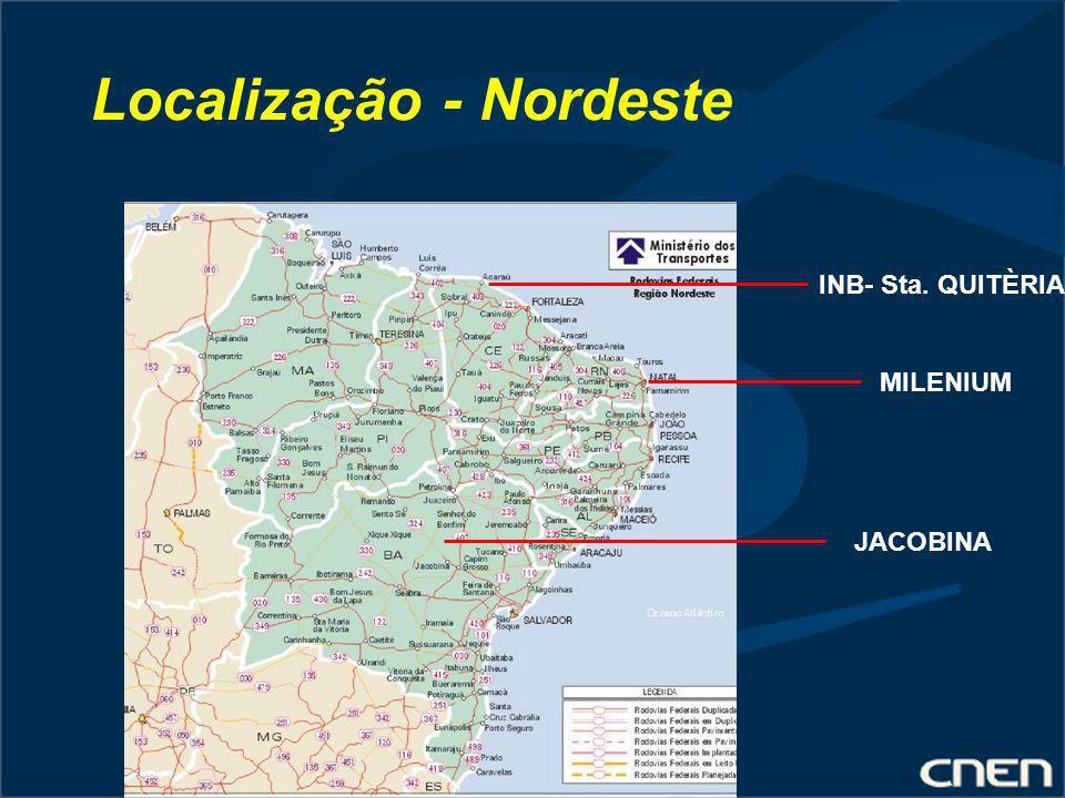 Localização - Nordeste