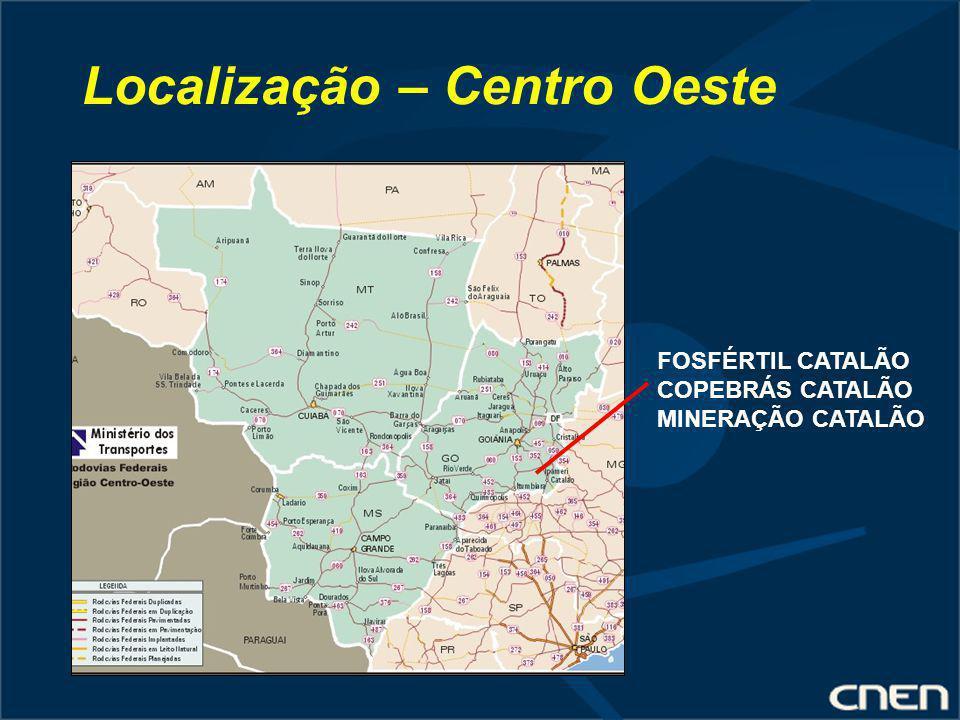 Localização – Centro Oeste