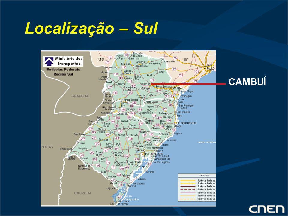 Localização – Sul CAMBUÍ
