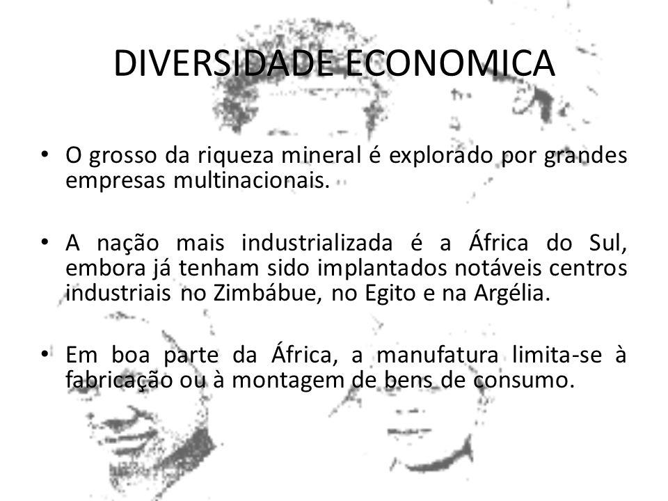 DIVERSIDADE ECONOMICA