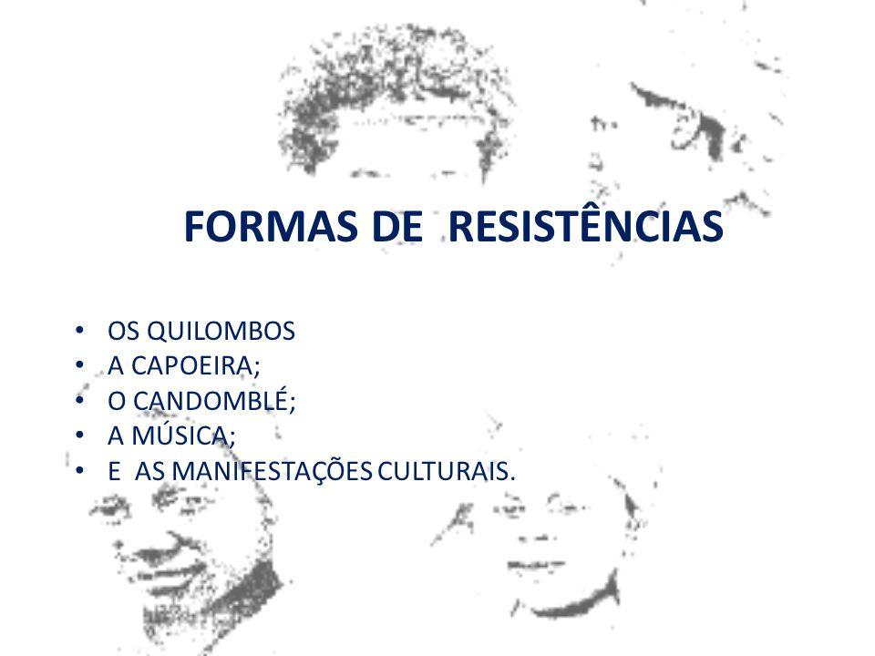 FORMAS DE RESISTÊNCIAS