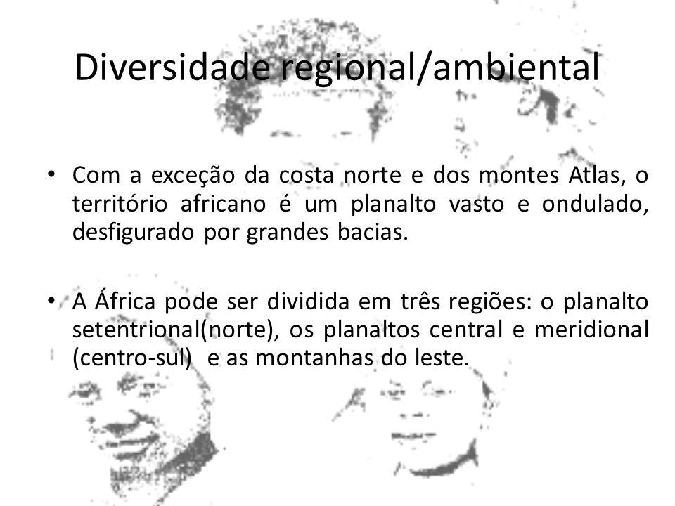 Diversidade regional/ambiental