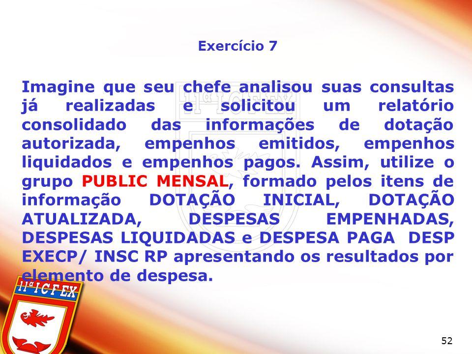 Exercício 7