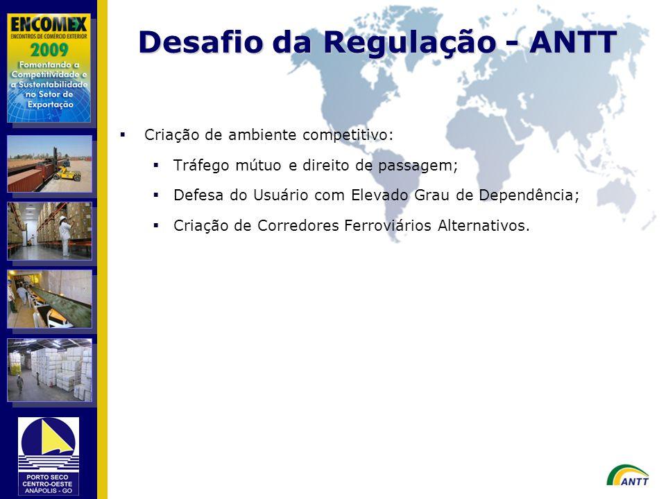 Desafio da Regulação - ANTT