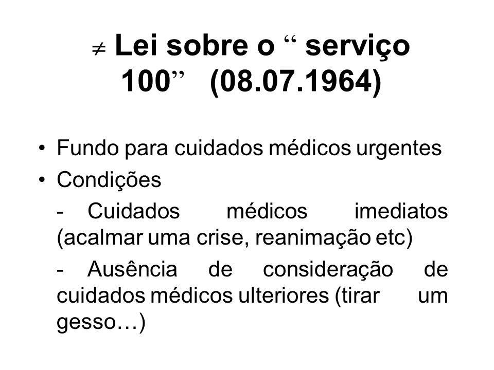  Lei sobre o serviço 100 (08.07.1964)