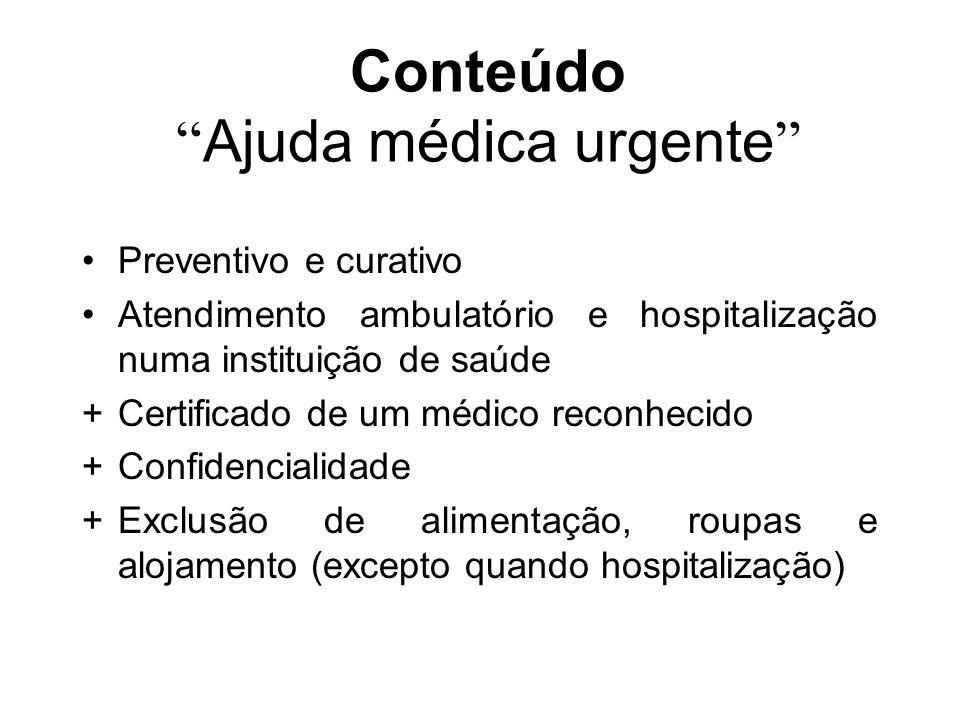 Conteúdo Ajuda médica urgente
