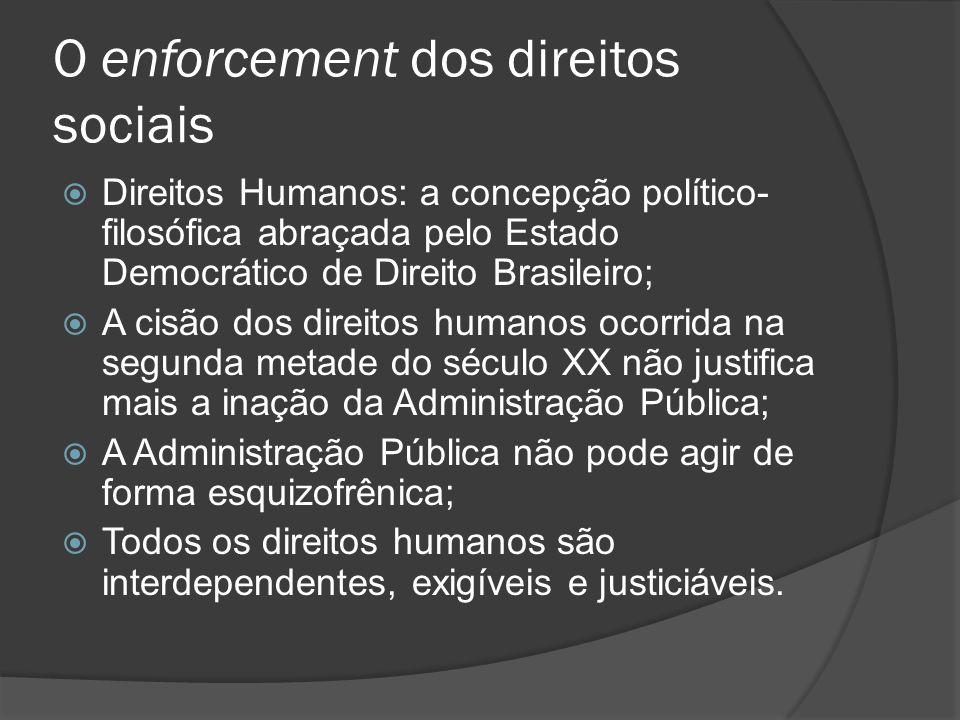 O enforcement dos direitos sociais