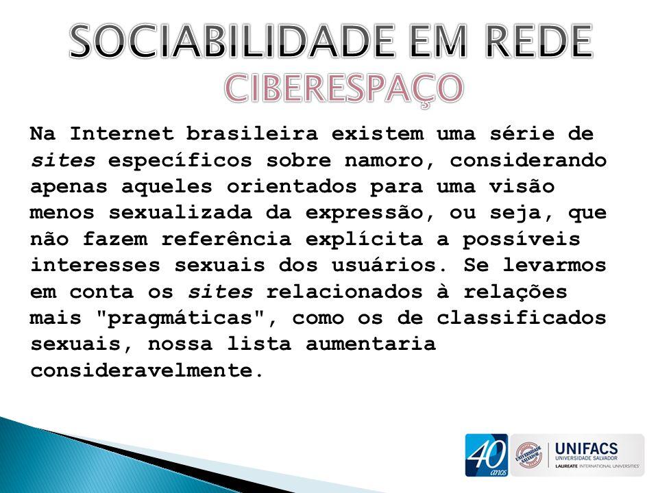 SOCIABILIDADE EM REDE CIBERESPAÇO