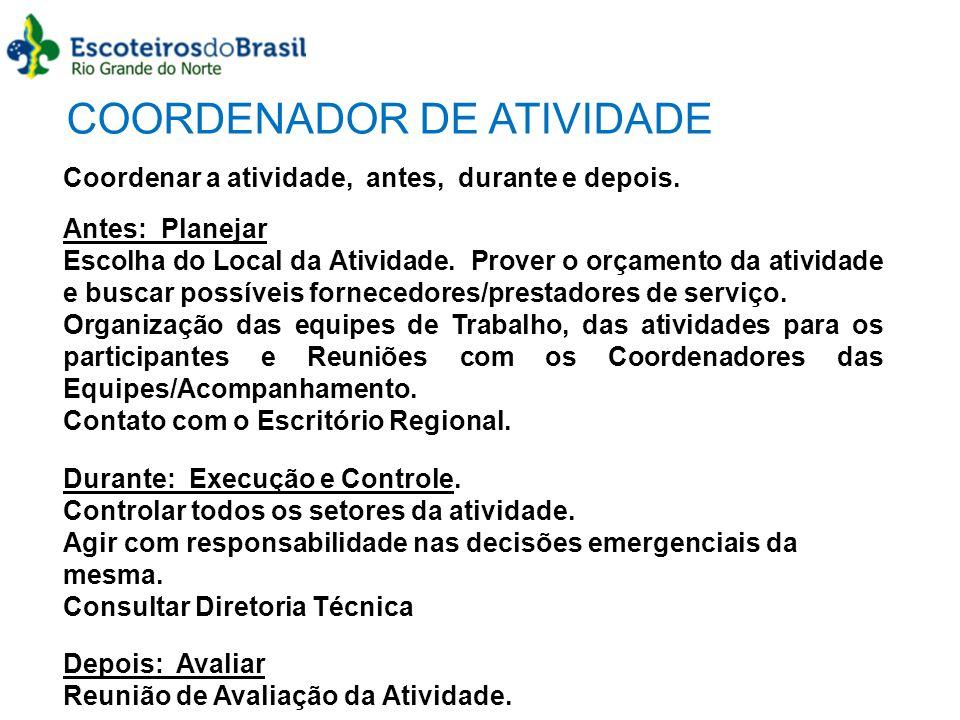COORDENADOR DE ATIVIDADE