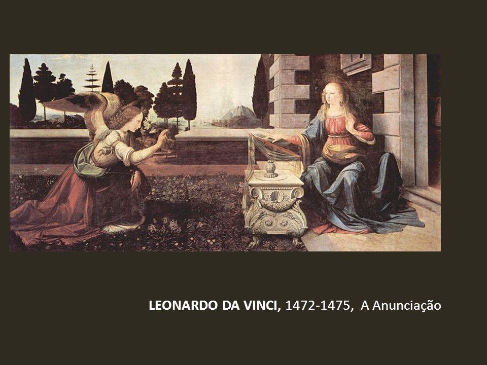 LEONARDO DA VINCI, 1472-1475, A Anunciação