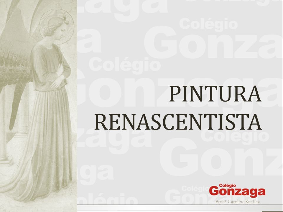 PINTURA RENASCENTISTA