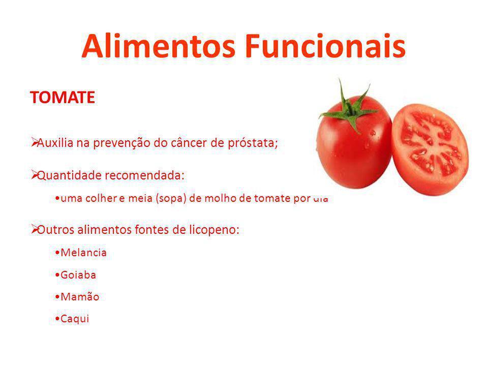 Alimentos Funcionais TOMATE