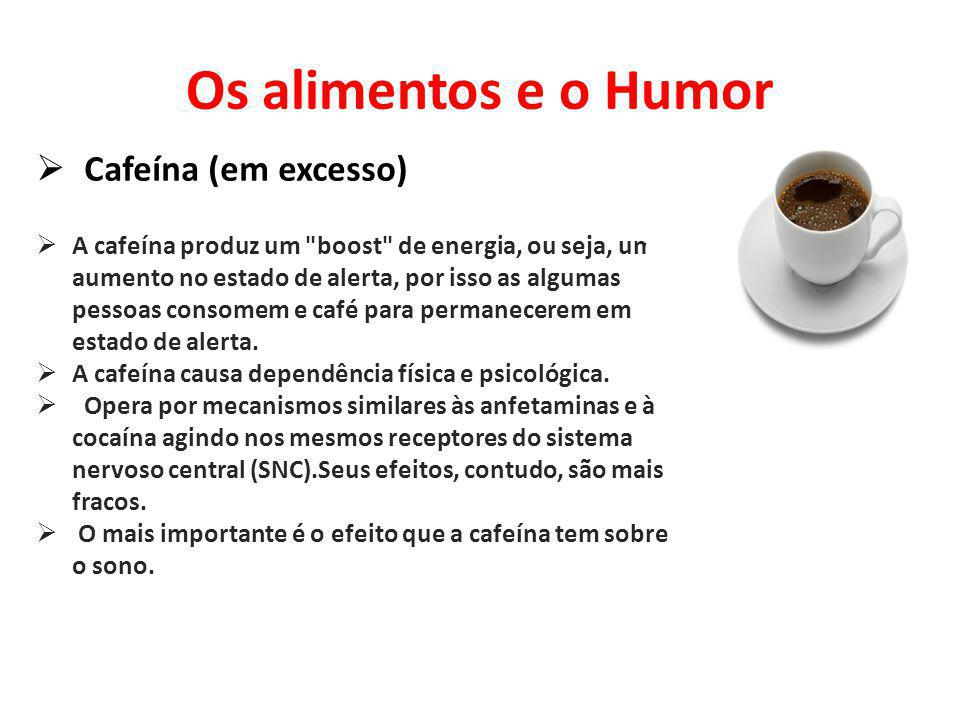 Os alimentos e o Humor Cafeína (em excesso)