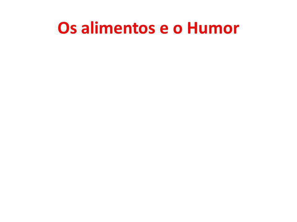 Os alimentos e o Humor