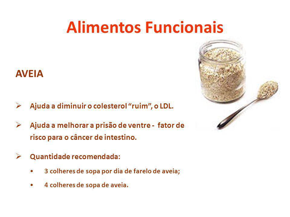Alimentos Funcionais AVEIA