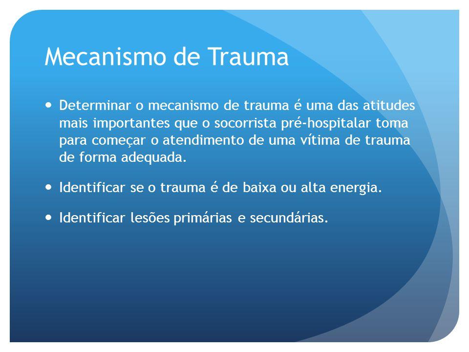 Mecanismo de Trauma