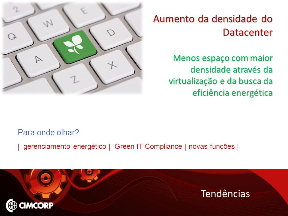 Aumento da densidade do Datacenter